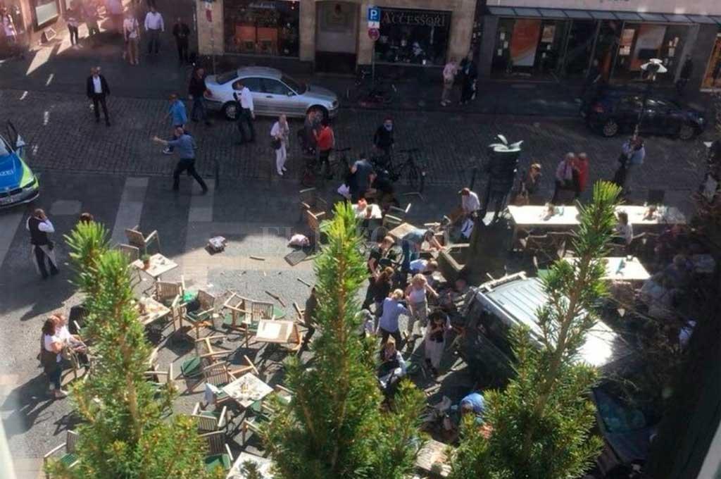 Alemania: al menos tres muertos y varios heridos por atropello de camioneta