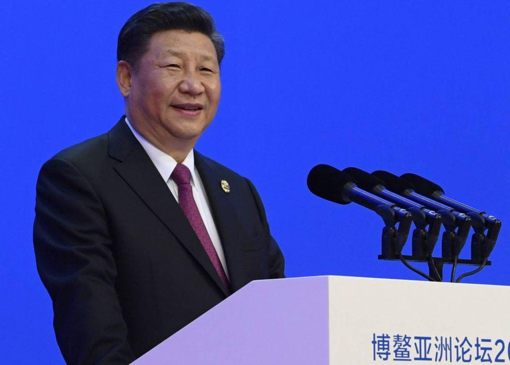 El presidente de China, Xi Jinping, en Boao.  Crédito: El País