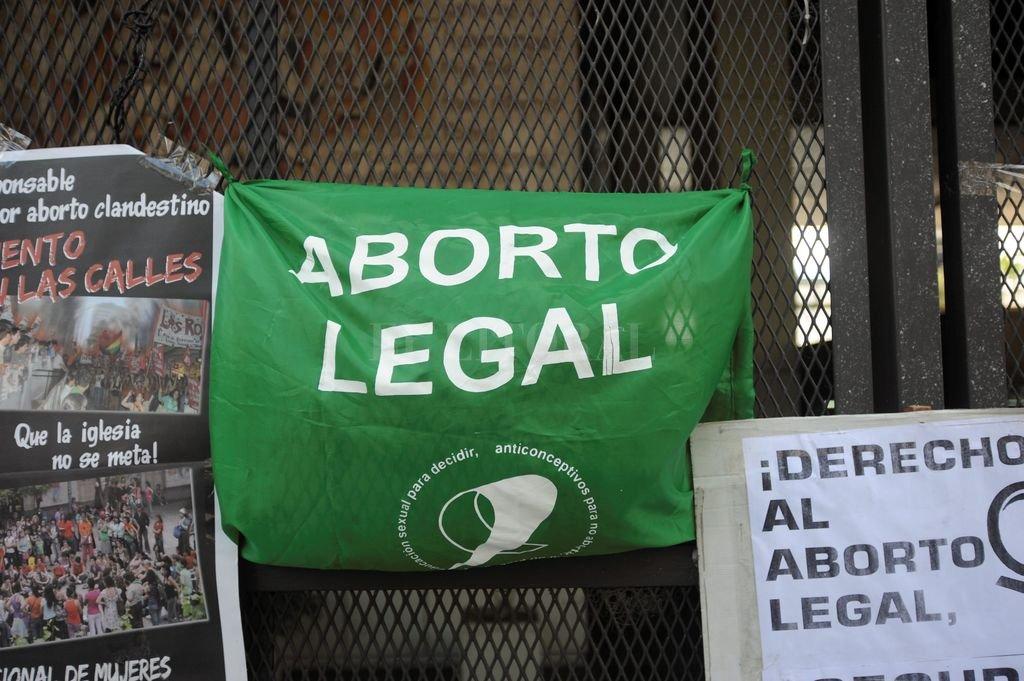 En la tarde de este martes se realizará un debate por la despenalización del aborto Crédito: Sergio Goya