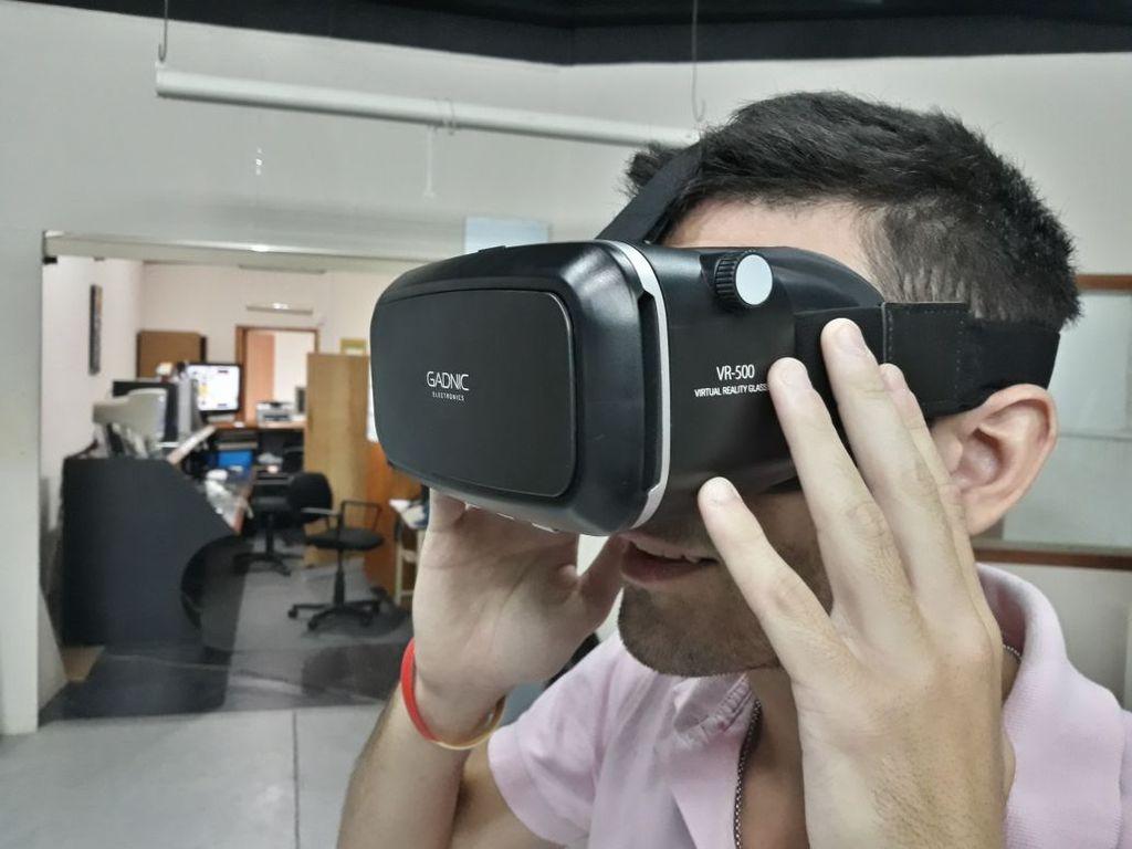 Nuevo equipamiento incorporado para el Media Lab: cámara 360 con visualizador de realidad virtual, steady cam de mano y cámara tipo GoPro.  Gentileza UCSF
