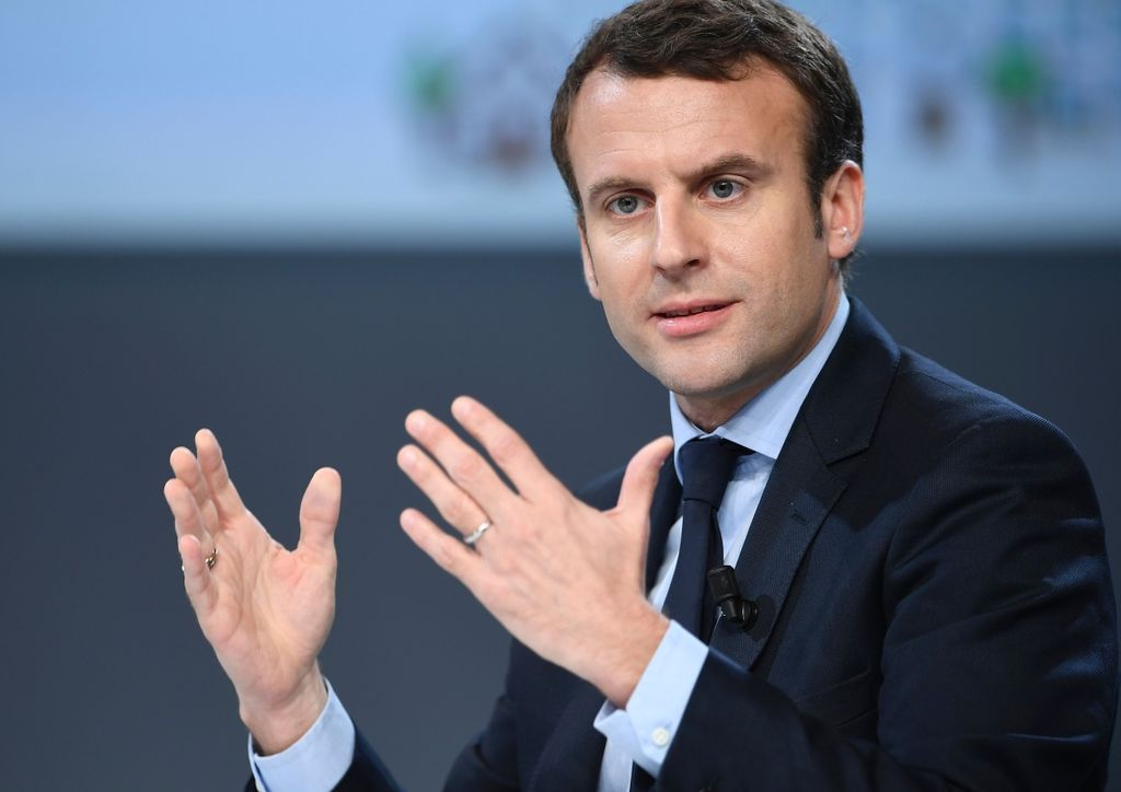 Emmanuel Macron. Crédito: Primicas24.afp.