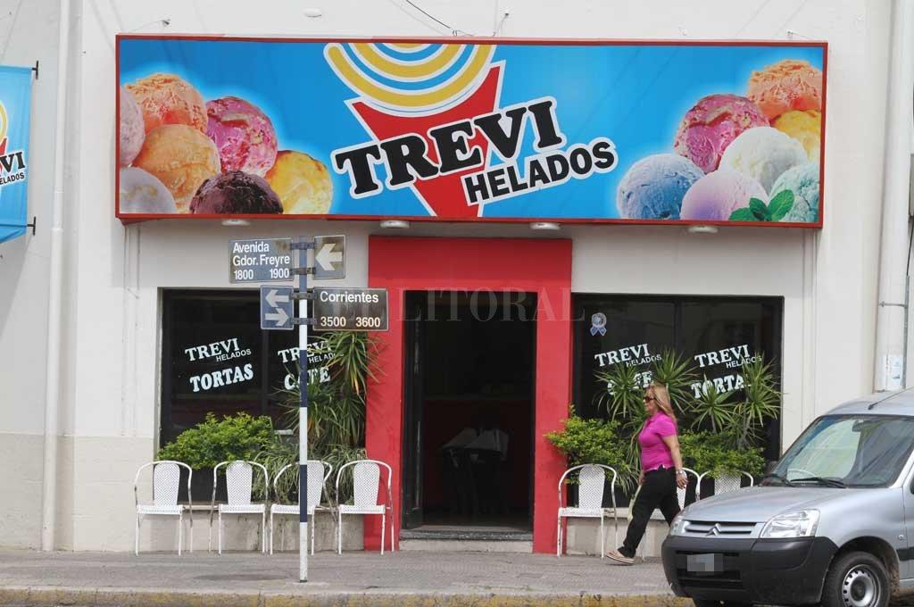 Uno de los robos se produjo en una heladería de Av. Freyre <strong>Foto:</strong> Archivo El Litoral