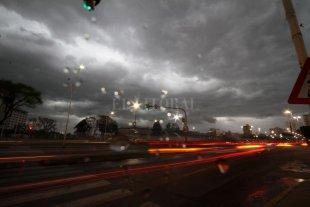 Alerta meteorológico por tormentas fuertes y caída de granizo -