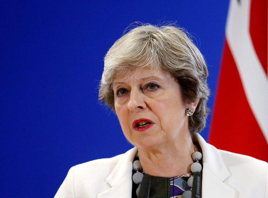 Theresa May, primer ministro británica. <strong>Foto:</strong> Internet. Reuters.