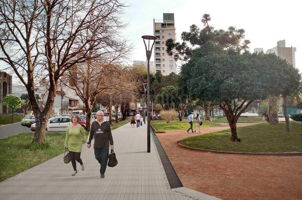 El proyecto de refacción que impulsa el municipio <strong>Foto:</strong> Archivo El Litoral