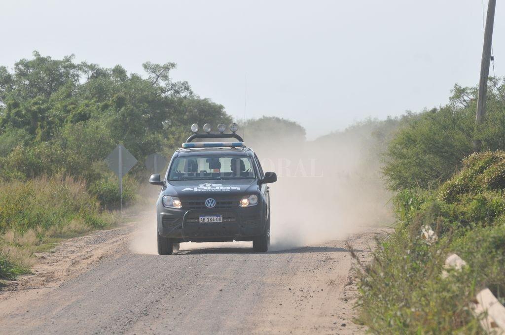 Hacía un mes que el sargento Mercado estaba al frente del destacamento Constituyentes, de la Guardia de Seguridad Rural Los Pumas. <strong>Foto:</strong> Mauricio Garín