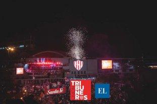 Tribuneros Unión: el Tate festejó a lo grande