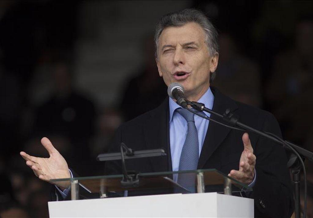 Mauricio Macri.  <strong>Foto:</strong> Mariano Sánchez - Agencia Anadolu/AA Español