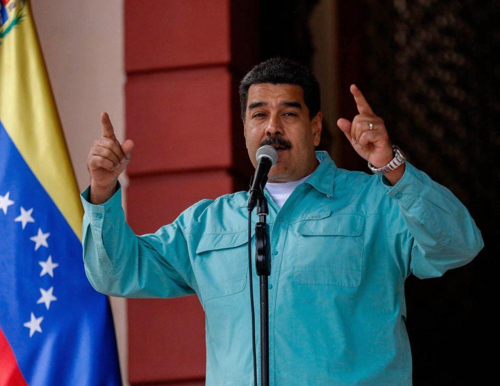 Nicolás Maduro.  Crédito: El País España.