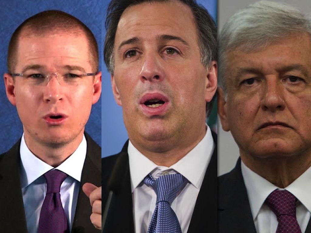 Primer debate hoy entre candidatos presidenciales mexicanos