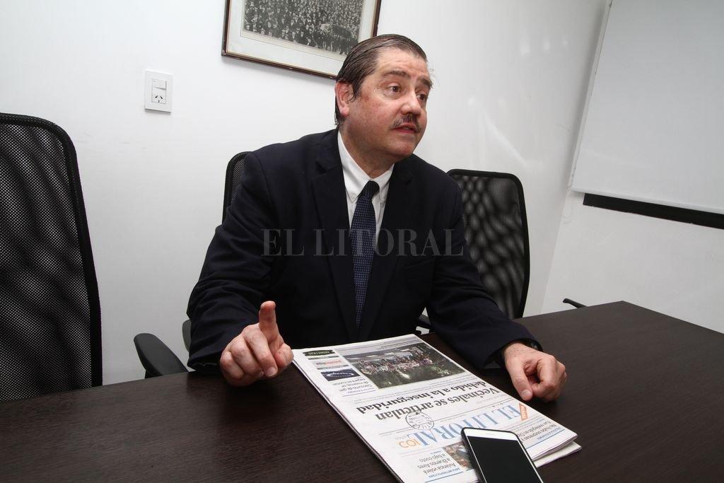"""""""los argentinos deberían estar orgullosos de tener a un compatriota como cabeza de la Iglesia"""", consideró Bermúdez. <strong>Foto:</strong> Guillermo Di Salvatore"""