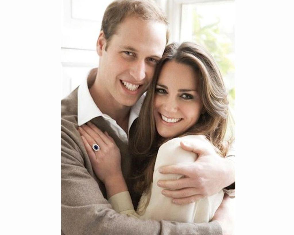 Los príncipes más queridos, la duquesa de Cambridge y el príncipe Guillermo. Crédito: Internet