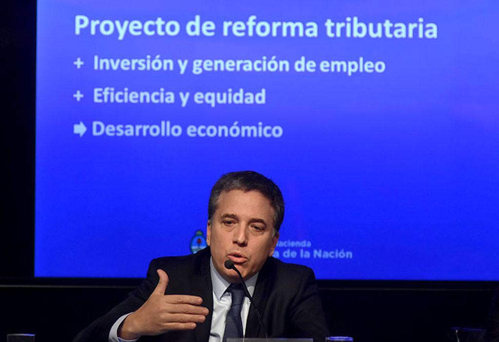 El ministro de Hacienda, Nicolás Dujovne. Crédito: Internet