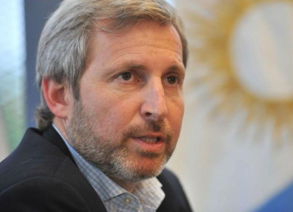 Rogelio Frigerio, ministro de Interior, habló para radio La Red. Crédito: Internet