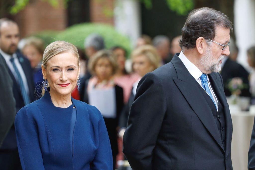 Cristina Cifuentes y Mariano Rajoy. <strong>Foto:</strong> Internet
