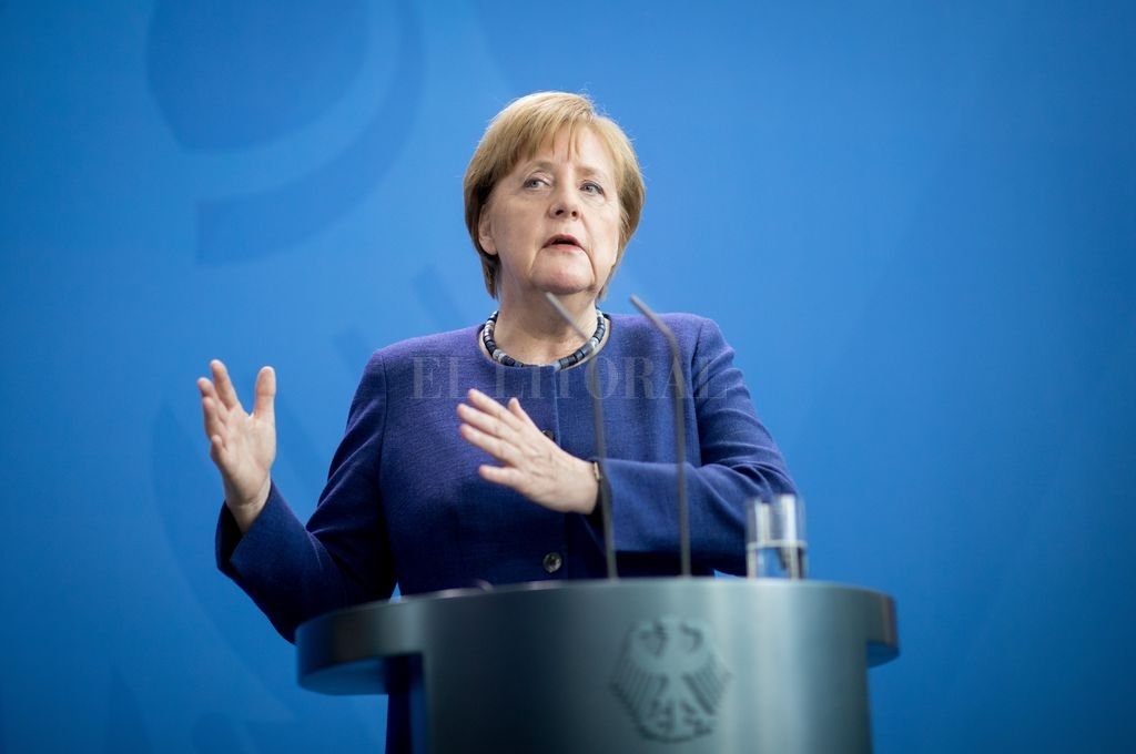 Trump recibe a Merkel en la Casa Blanca