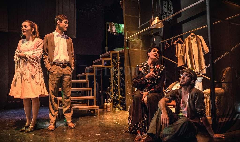 """El elenco de """"Septiembre. Un musical para enamorar"""" está compuesto por Alicia Galli, Claudia Correa, Matías Lapunzina, Mauricio Arce y Janise Fladung. <strong>Foto:</strong> Gentileza Not Momma"""