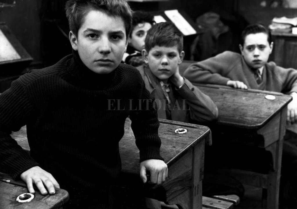 """Jean Pierre Laud personifica a Antoine Doinel, alter ego de Truffaut en """"Los 400 golpes"""".  Crédito: Les Films du Carrosse"""