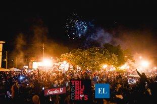 Tribuneros Colón: los festejos por el cumpleaños del Sabalero