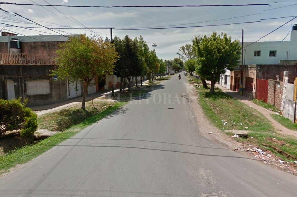 Rueda al 5300, la zona donde se produjo uno de los violentos hechos <strong>Foto:</strong> Captura de Pantalla - Google Street View