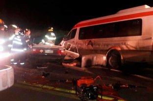 Fuerte choque en el sur de Santa Fe deja tres muertos