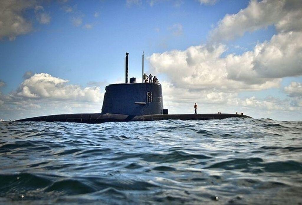 Submarino ARA San Juan. <strong>Foto:</strong> Internet