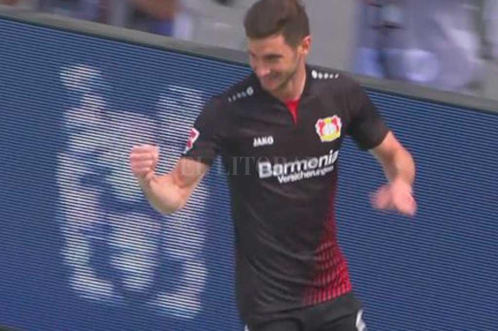 Doblete de Alario para la victoria de Bayer Leverkusen ante Hannover 96