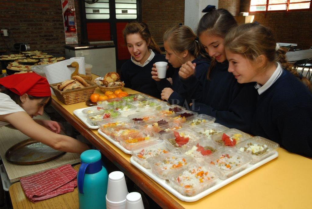La iniciativa busca que los alumnos empiecen a tomar conciencia de la importancia de una buena alimentación. Crédito: Archivo