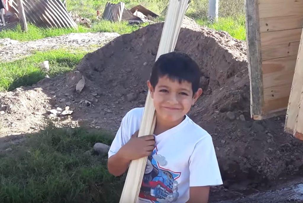 Leonel Seco, el pequeño héroe tucumano. <strong>Foto:</strong> La Gaceta Play.