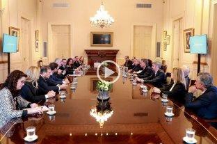 """Jefes de bloque del Senado apoyaron la """"defensa de la estabilidad financiera"""""""