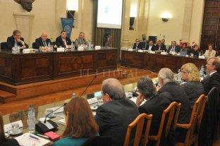 Reunión de trabajo entre  gobierno provincial y UNL