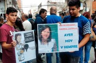 Reiteran el pedido de justicia por el crimen de Vanesa Castillo