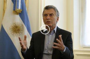 Amplio llamado de Macri para la construcción de un acuerdo