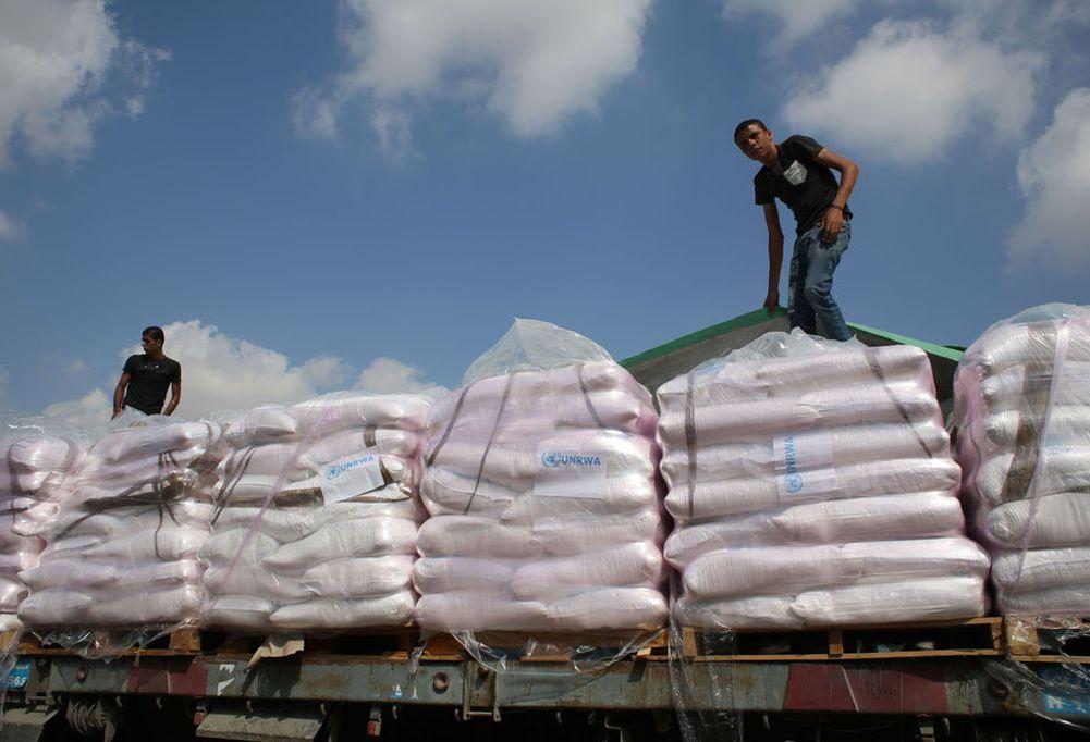 Ayuda humanitaria en Gaza. Crédito: Internet