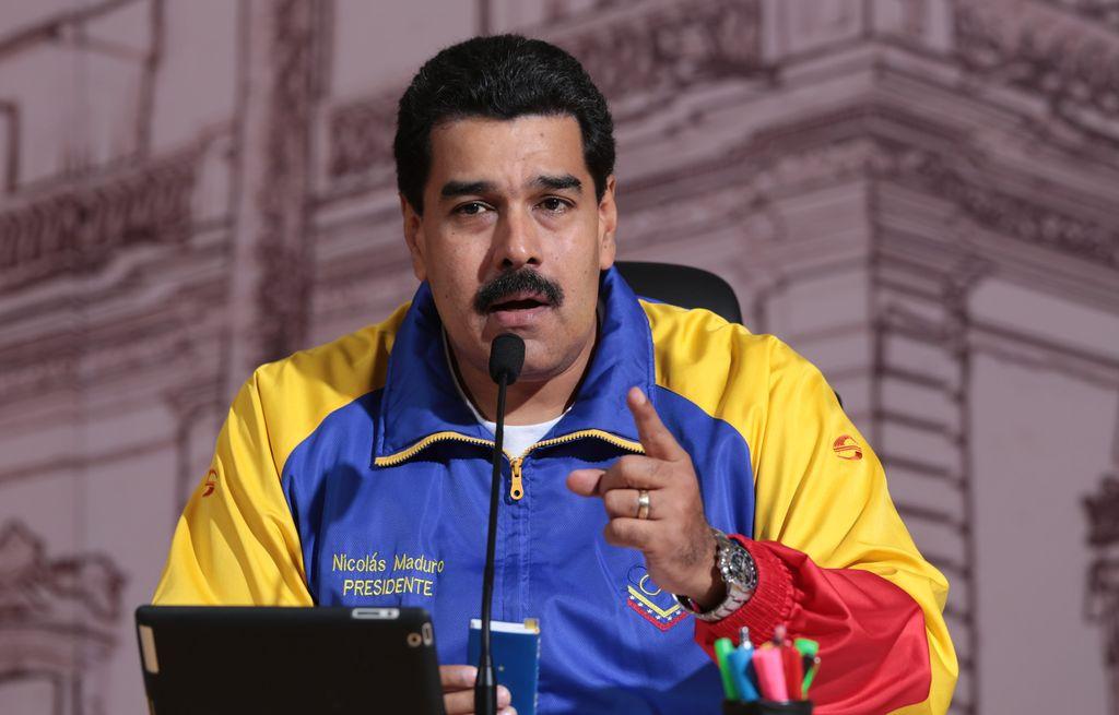 El presidente venezolano, Nicolás Maduro Crédito: Internet