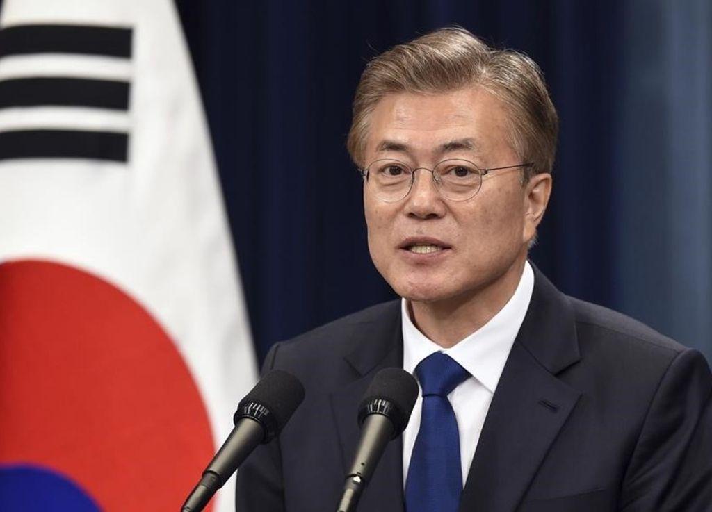 El nuevo presidente surcoreano Moon Jae-In. <strong>Foto:</strong> El Periódico.