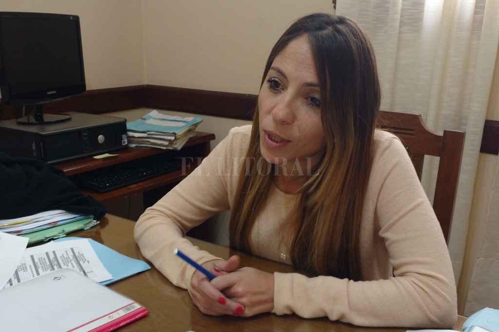 La Dra. Anahí Rodríguez, presidente del Directorio del órgano regulador. <strong>Foto:</strong>  Gentileza prensa Enress.
