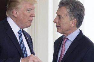 """Trump destacó """"el buen trabajo de Macri para transformar la Argentina"""""""