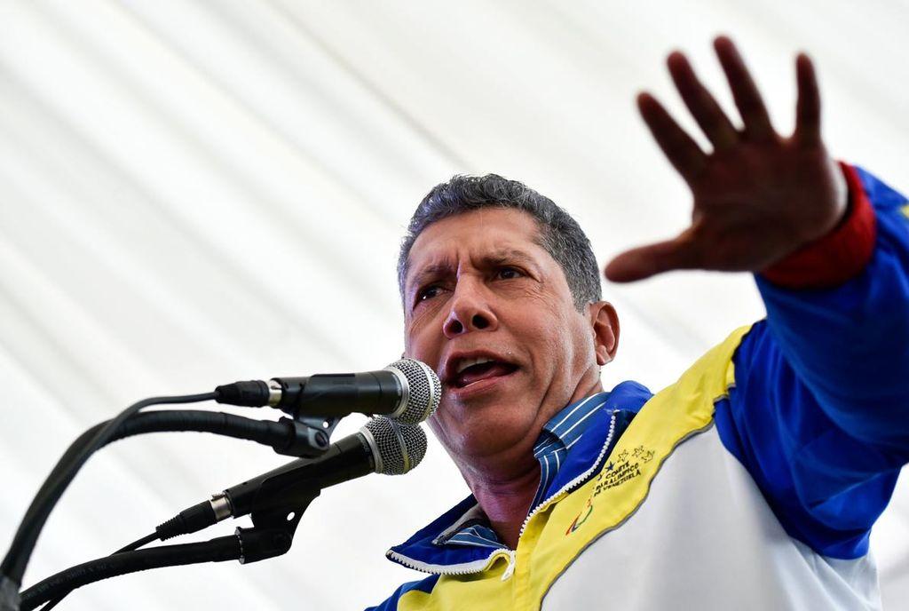 El candidato presidencial por el partido Avanzada Progresista (AP), Henri Falcón. Crédito: Internet