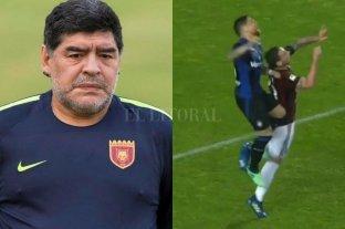 """Maradona bancó al """"Papu"""" Gómez tras el choque con Biglia"""