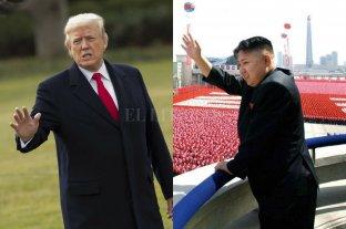 """Trump dice que su reunión con Kim puede ser """"más tarde"""""""