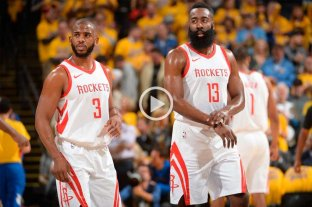 Houston resiste y volvió a empatar la serie con Golden State