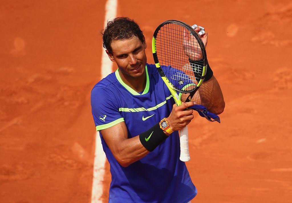 Rafael Nadal, el rey del polvo de ladrillo. <strong>Foto:</strong> Internet