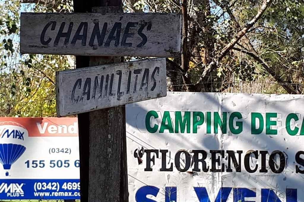 El domicilio asaltado se ubica en Chanáes y Canillitas. La semana anterior hubo otros tres hechos delictivos en inmuebles de esa zona. Crédito: Danilo Chiapello