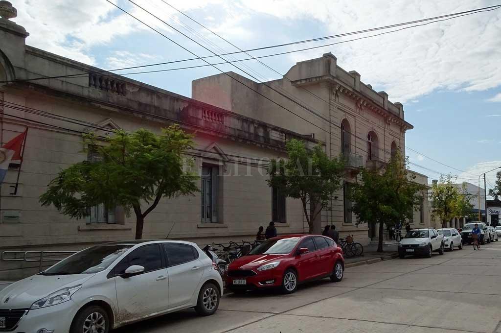 La audiencia se llevó a cabo en la Oficina de Gestión Judicial de Vera. Crédito: Archivo El Litoral