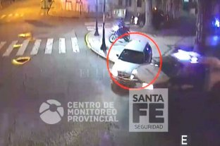 Video: intentaron evadir un control y terminaron detenidos