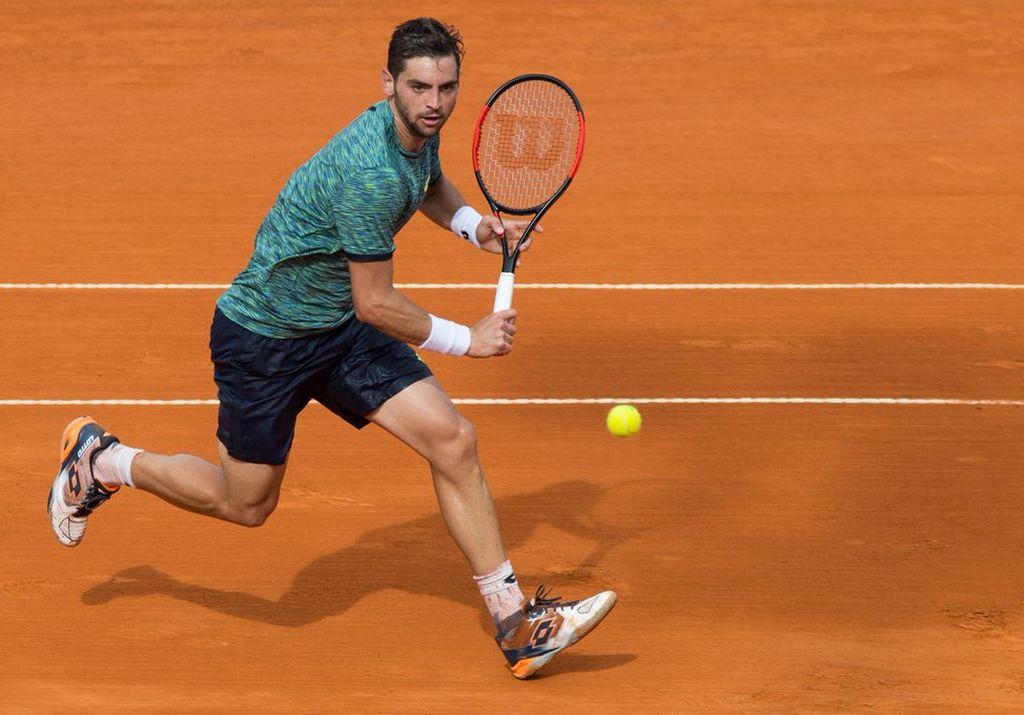 Aguido Andreozzi ingresó al cuadro principal del Roland Garros