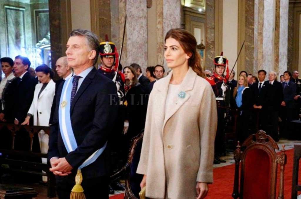 Macri asiste al Tedeum en la Catedral