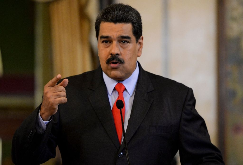 Nicolás Maduro.  Crédito: Internet