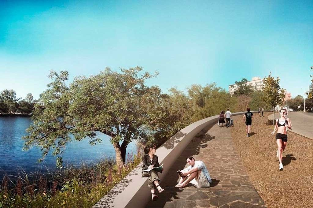 Se renovará el circuito aeróbico de este tradicional paseo santafesino Crédito: Gentileza Municipalidad de Santa Fe